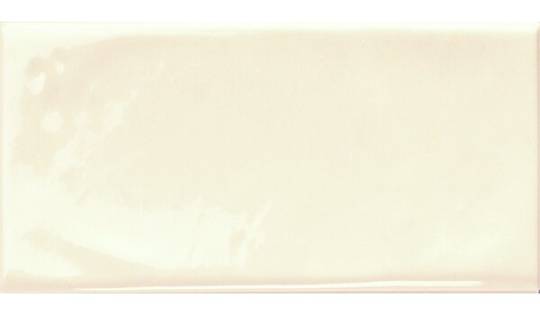 Mason 3 x 6 Ceramic Subway Tile in Vanilla Cream Glossy by Walkon Tile
