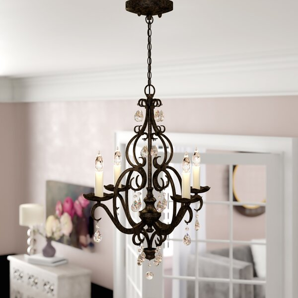 Royall 4 - Light Candle Style Empire Chandelier by House of Hampton House of Hampton
