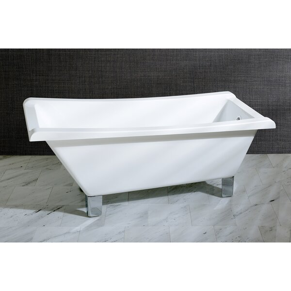 Aqua Eden 67 x 29.5 Soaking Bathtub by Kingston Brass