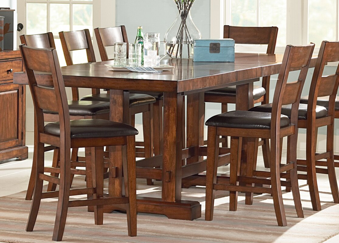 Loon Peak Matterhorn Counter Height Dining Table & Reviews | Wayfair