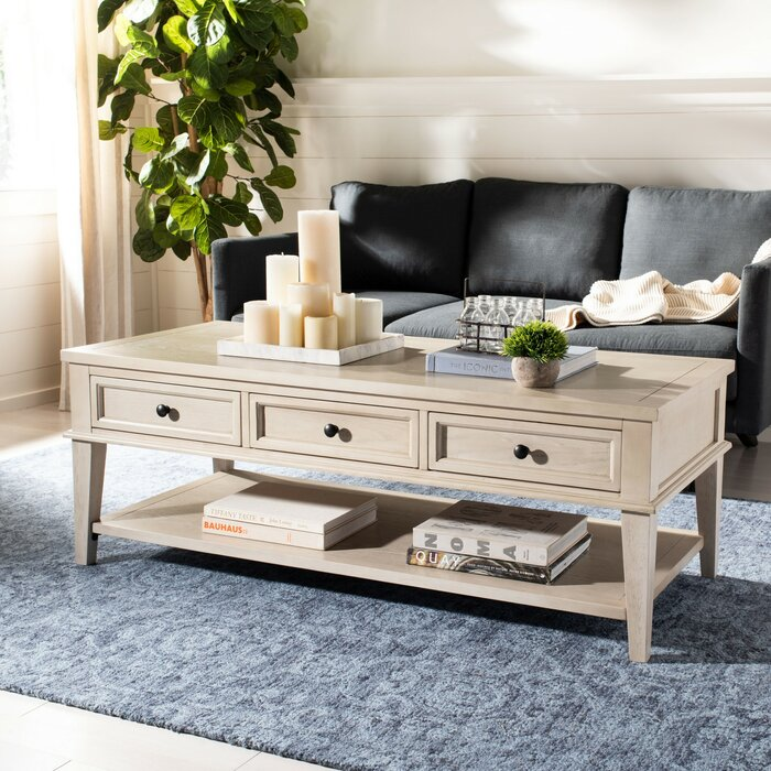 Yelena Coffee Table With Storage