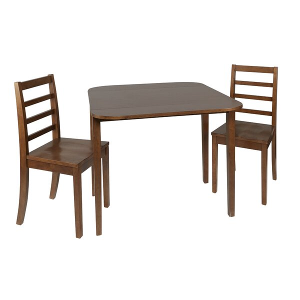 Henrik 3 Piece Drop Leaf Dining Set by Andover Mills