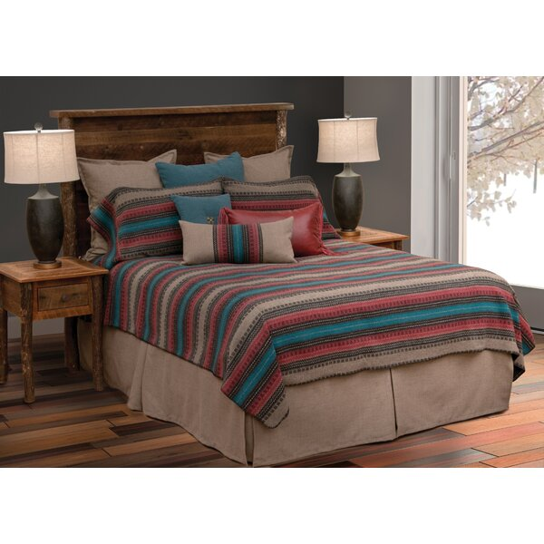 Twigg Bed Skirt by Millwood Pines