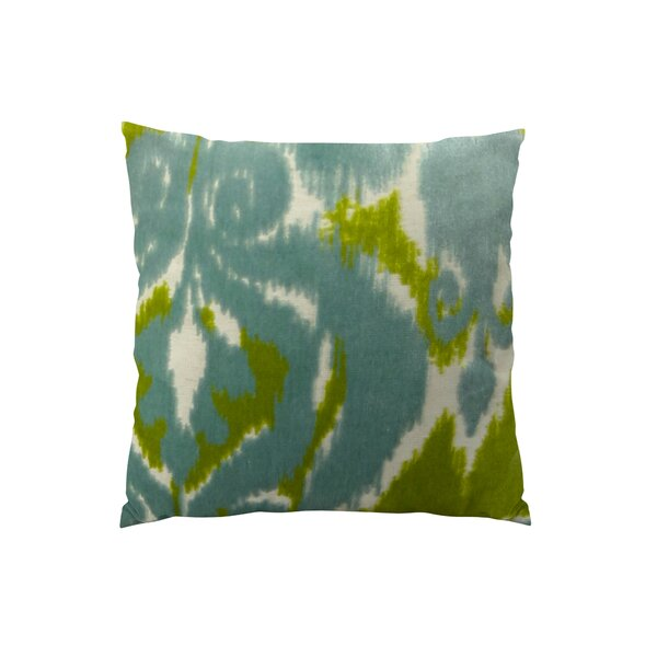 Velvet Bliss Water Double Sided Throw Pillow by Plutus Brands