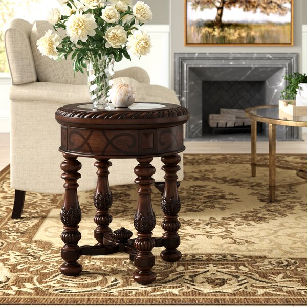 Evelyn End Table by Astoria Grand Astoria Grand