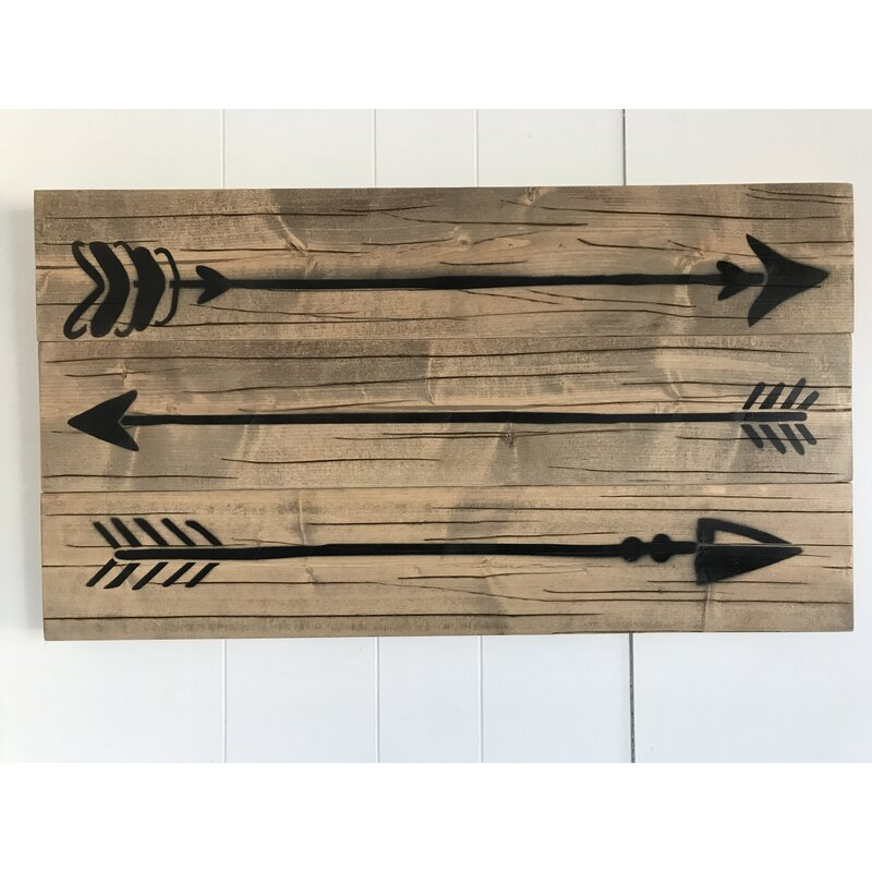 Top Rustic Wood Arrow Wall Decor | Joss & Main WT99