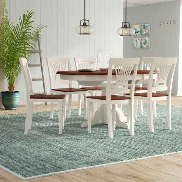 Norris 7 Piece Dining Set by Beachcrest Home
