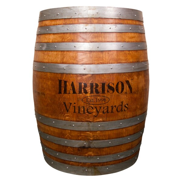 Personalized Barrel Pub Table by Napa East Collection