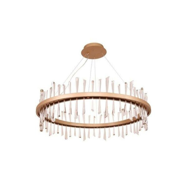 Walmsley 1 - Light Unique Wagon Wheel LED Chandelier by Everly Quinn Everly Quinn