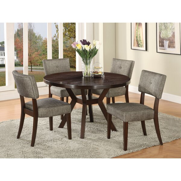 Leboeuf 5 Piece Dining Set by Latitude Run