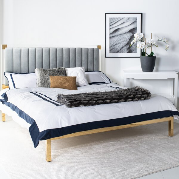 Elmdale Upholstered Standard Bed by Everly Quinn