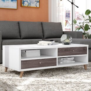 Budget Paloma Contemporary Coffee Table By Ivy Bronx