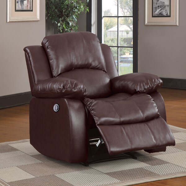 Patton Power Wall Hugger Recliner by Andover Mills