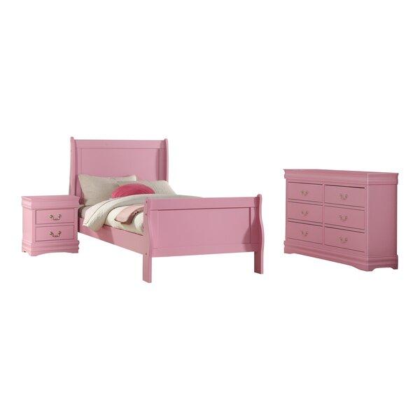 Hallatrow Sleigh Configurable Bedroom Set by Red Barrel Studio