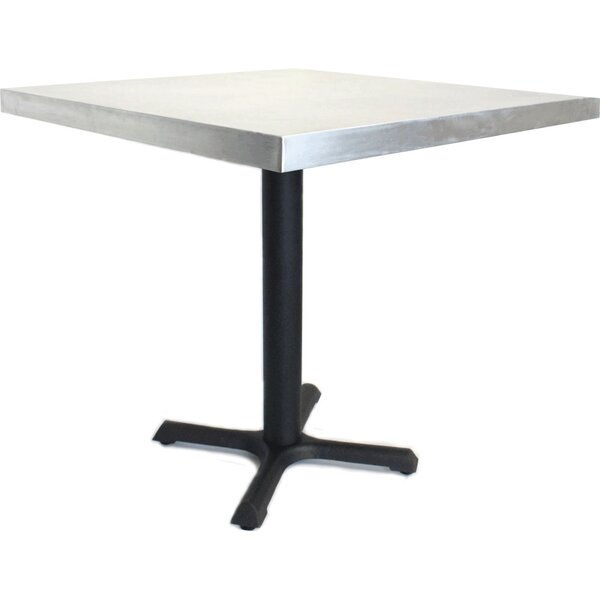 30 in. Square Dining Table by Mio Metals
