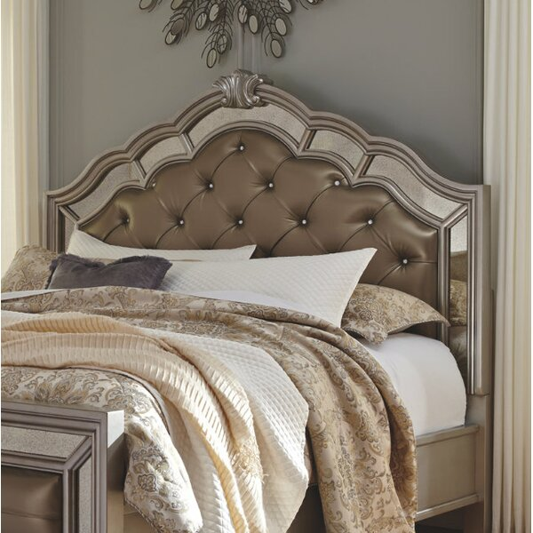 Randell Upholstered Panel Headboard by Fleur De Lis Living