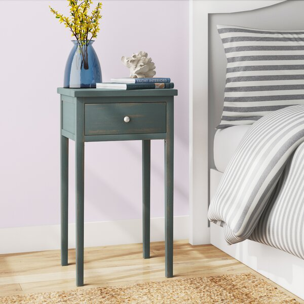Farnham End Table With Storage by Beachcrest Home