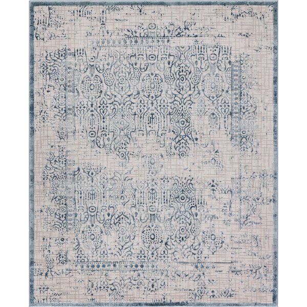 Delarosa Blue Area Rug by Bungalow Rose