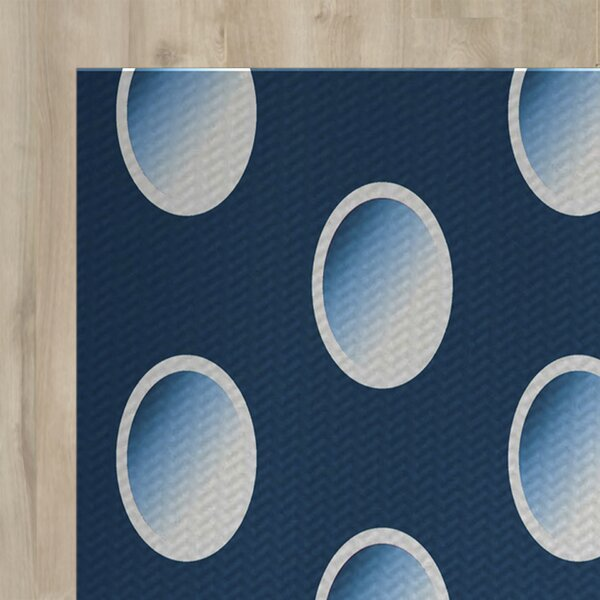 Blue Indoor/Outdoor Area Rug by The Holiday Aisle