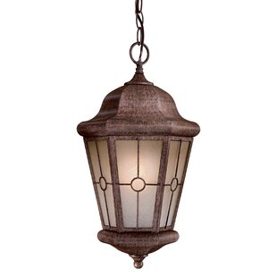 Read Reviews Montellero 1-Light Outdoor Hanging Lantern By Great Outdoors by Minka