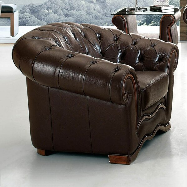 Medrano Chesterfield Chair by Canora Grey