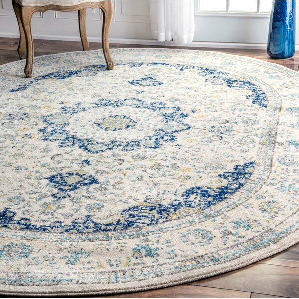 Hosking Doylestown Blue Area Rug by Laurel Foundry