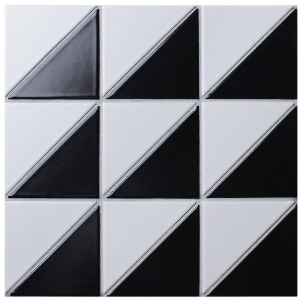Trian Super Duel Iso 2 x 5 Porcelain Mosaic Tile
