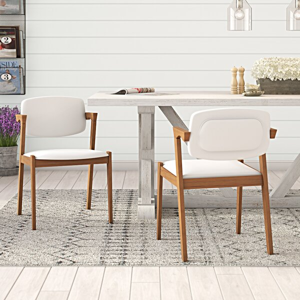Noonan Upholstered Dining Chair (Set of 2) by Laurel Foundry Modern Farmhouse