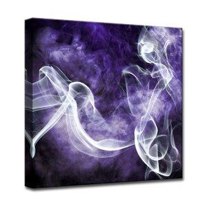 Glitzy Mist XXII' by Tristan Scott Graphic Art on Wrapped Canvas by Ready2hangart