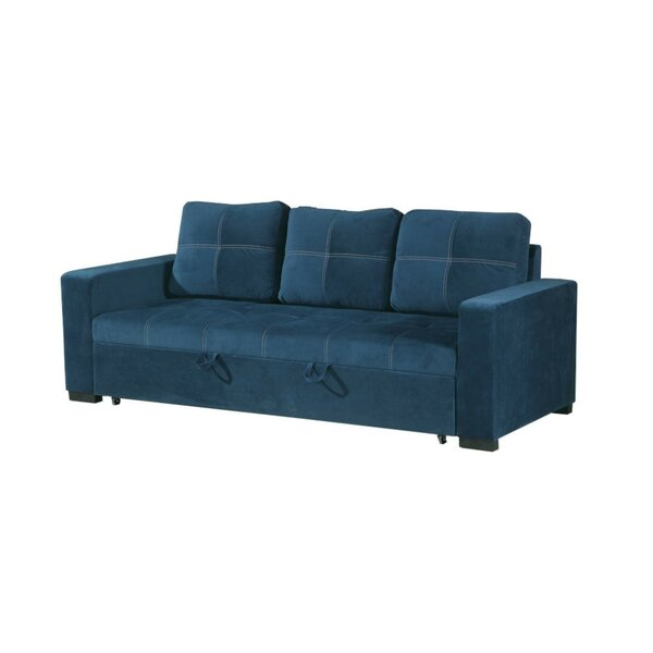 Lusher Polyfiber Fabric Convertible Sofa by Latitude Run