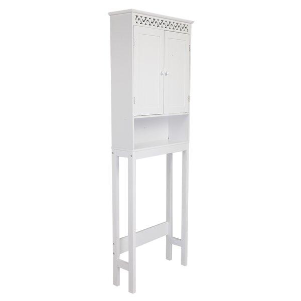Duffey 24.8 W x 68.11 H x 7.87 Over-the-Toilet Storage