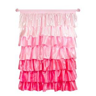 Light Pink Ruffle Curtains | Wayfair
