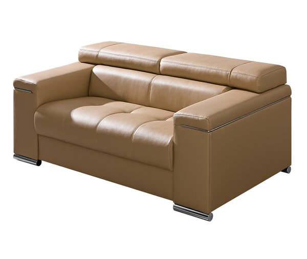 Silver Modern Living Room Loveseat by Dolmar