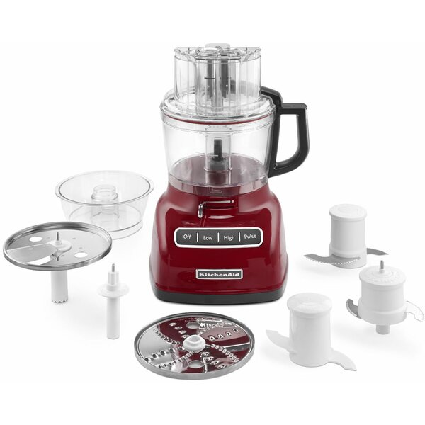 9-Cup Food Processor with Exact Slice System and External Adjustable Lever - KFP0933 by KitchenAid