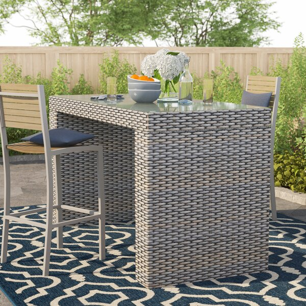 Everton Bar Table By Sol 72 Outdoor