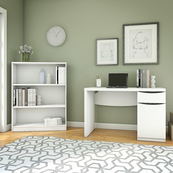Montrese 2 Piece Desk Office Suite by Latitude Run