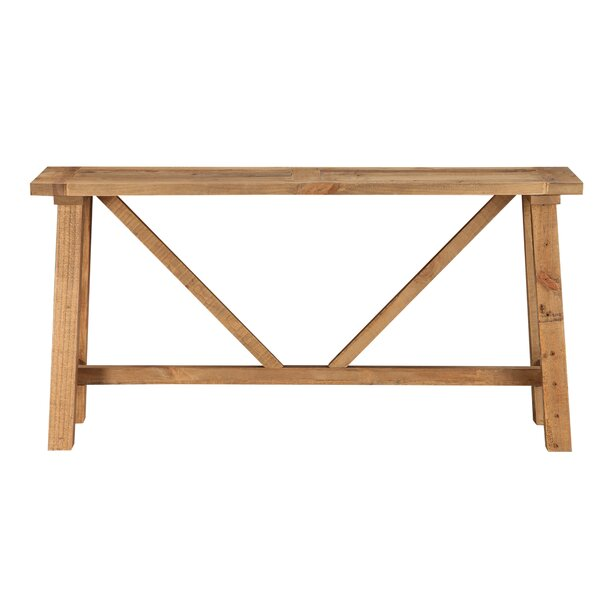 Patio Furniture Stambaugh Reclaimed Wood Console Table