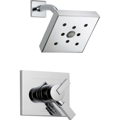 Shower Faucet Trim Handles Chrome photo