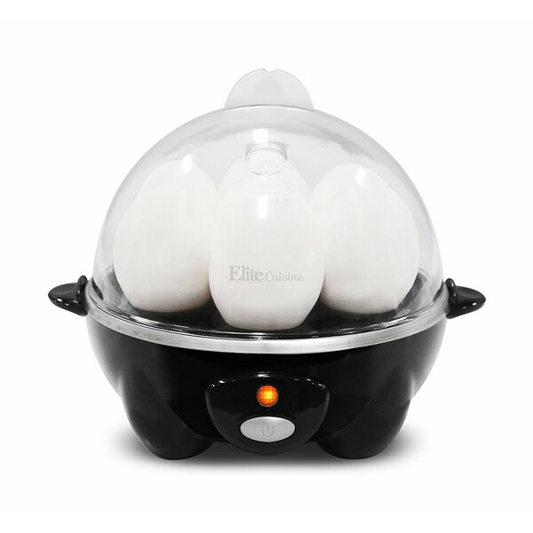 Cuisine Automatic Easy 7-Egg Cooker by Elite by Maxi-Matic
