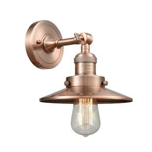 Inexpensive Gault 1-Light Barn Light By Breakwater Bay