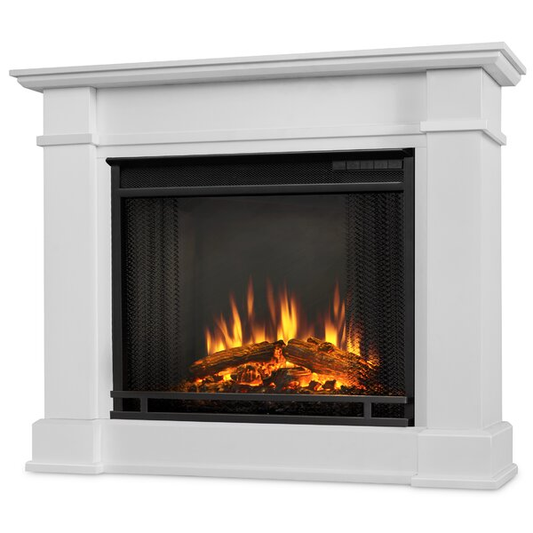 Devin Petite Electric Fireplace by Real Flame
