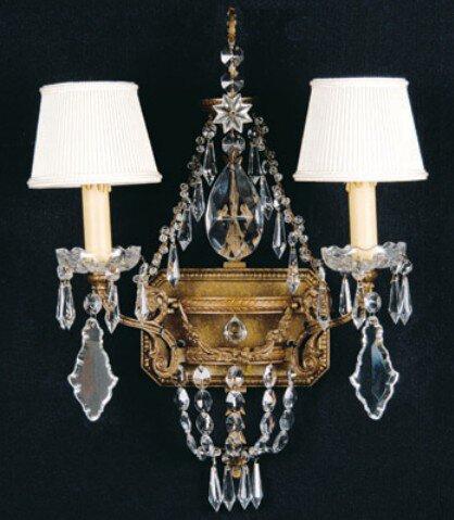 Beeler 2-Light Candle Wall Light Astoria Grand