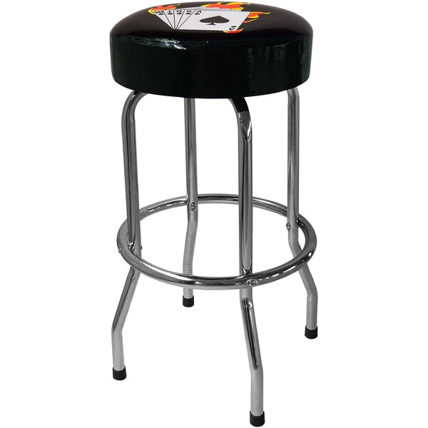 Poker 30.5 Bar Stool by On The Edge Marketing