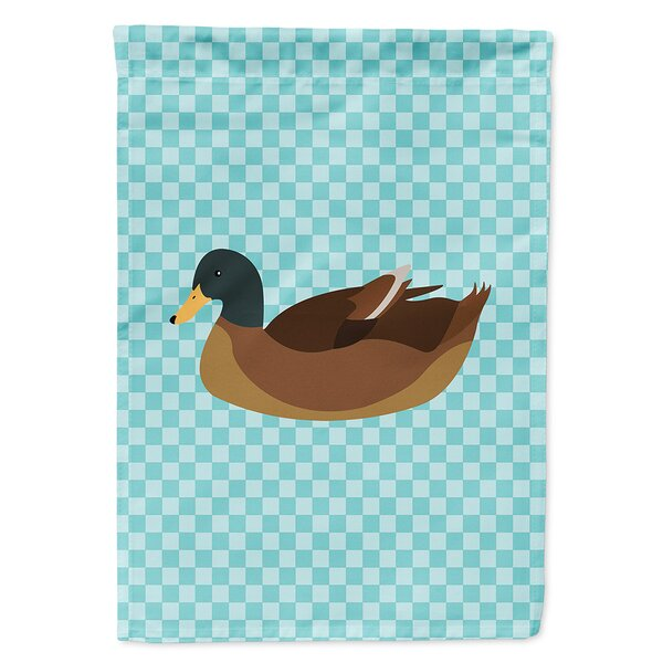 Campbell Duck 2-Sided Polyester 15 x 11 in. Garden Flag by Caroline's Treasures
