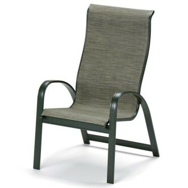Primera Stacking Patio Dining Chair (Set of 4) by Telescope Casual