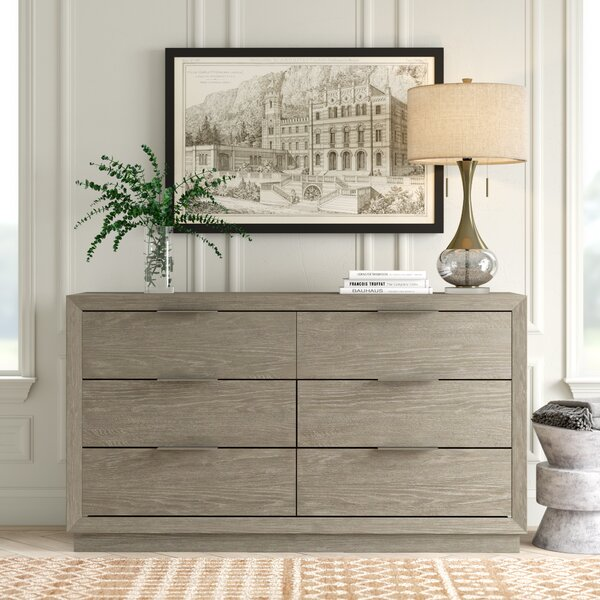 Delaplaine 6 Drawer Dresser by Greyleigh