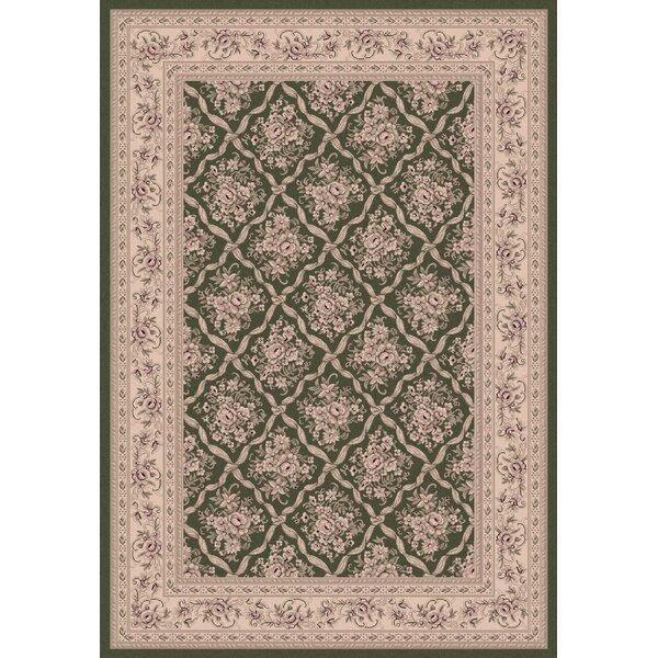 Atterbury Persian Green Rug by Astoria Grand
