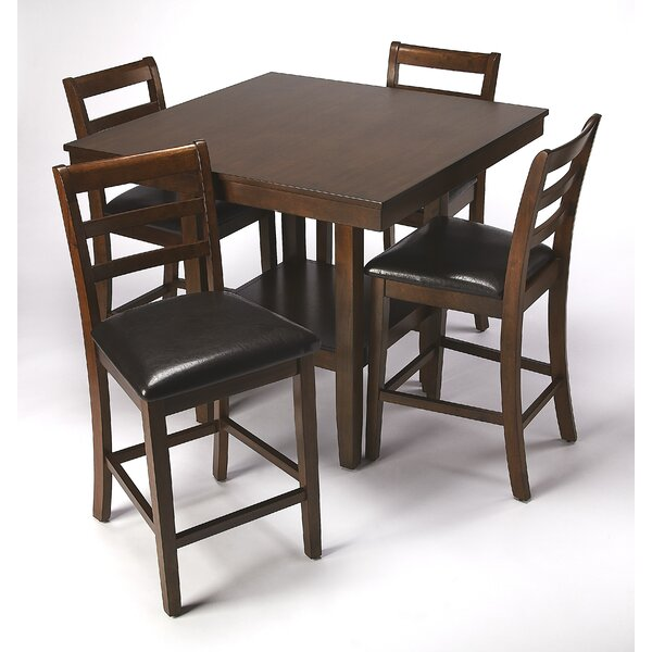 Sigler 5 Piece Dining Set By Millwood Pines