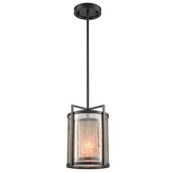Esteban 1 Light Single Bell Pendant