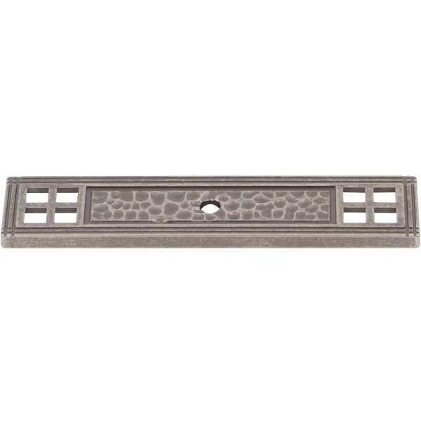 Arts and Crafts Backplate by Stone Harbor Hardware